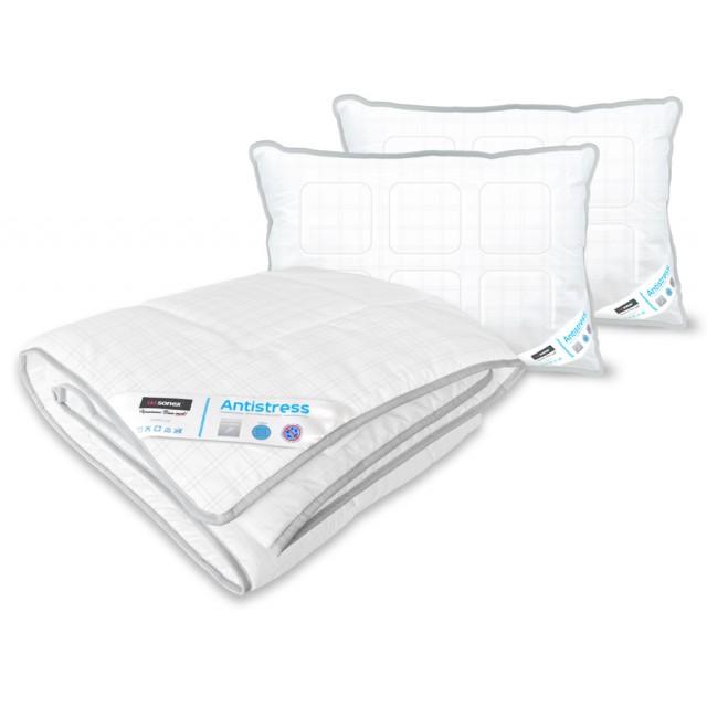 Набор Antistress Карбон (Одеяло + 2 подушки)