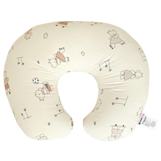 Подушка для беременных и кормления BabyCare бежевая