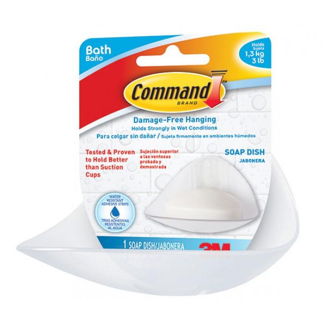 Мыльница Command (BATH14)