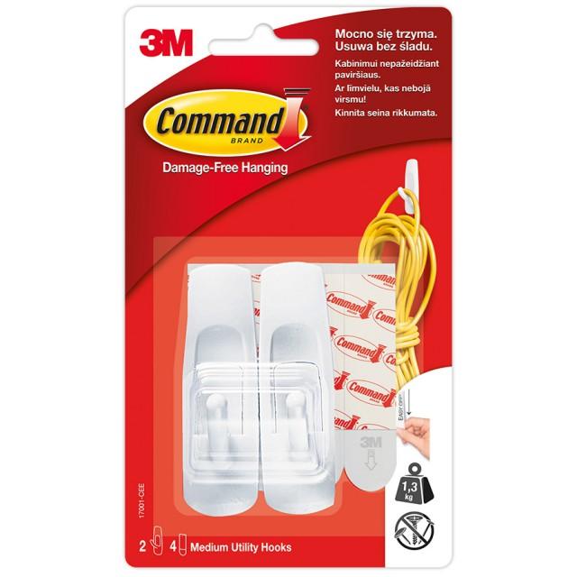 Крючок Command стандартный средний (17001)