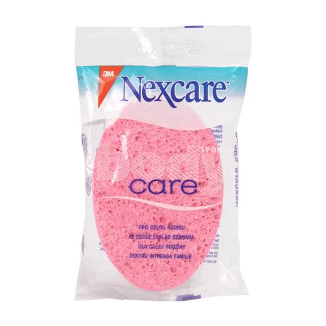 Губка массажная для тела Nexcare Care розовая