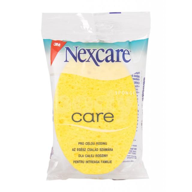 Губка массажная для тела Nexcare Care желтая