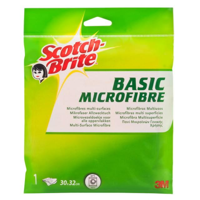 Салфетка из микрофибры для уборки Scotch-Brite Basic (WS805/1)