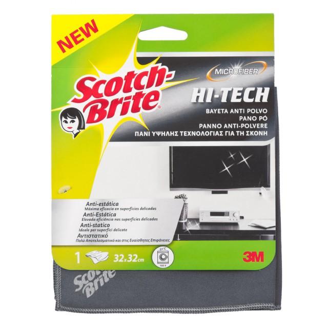 Салфетка из микрофибры для электроники Scotch-Brite Hi-Tech (WS950)