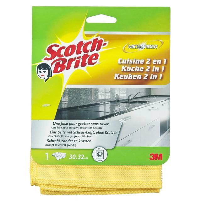 Салфетка из микрофибры Scotch-Brite для кухни 2 в 1 (WS815)
