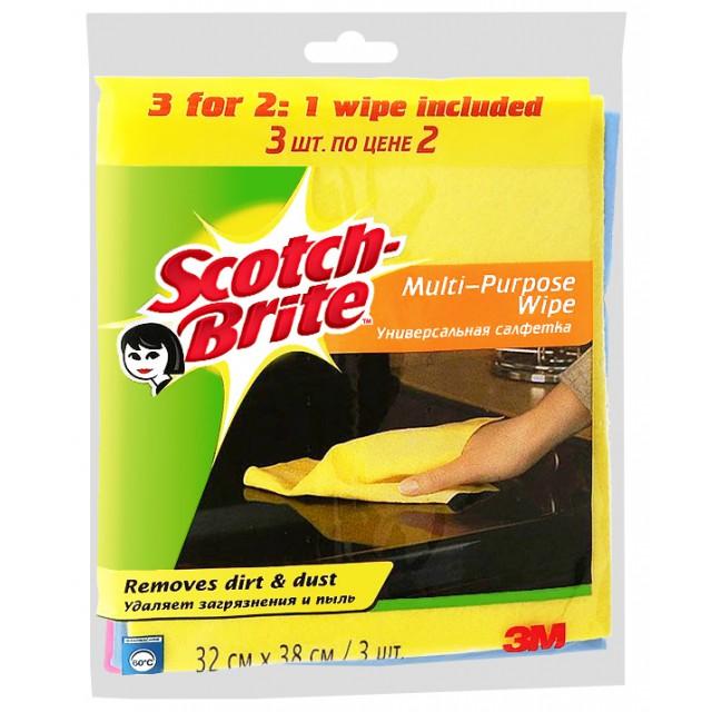 Салфетки Scotch-Brite универсальные (XX673)