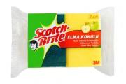 Губки для мытья посуды Scotch-Brite с ароматом яблока (XL732SC)