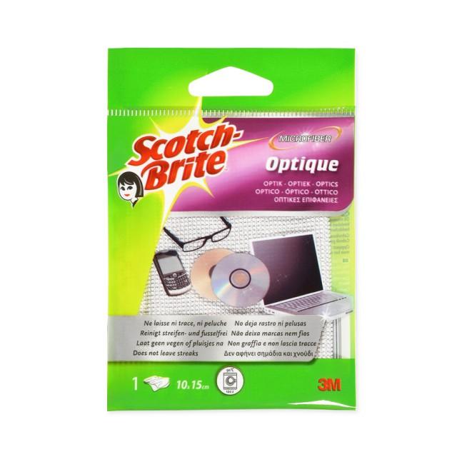 Салфетка из микрофибры для оптики Scotch-Brite (WS915)