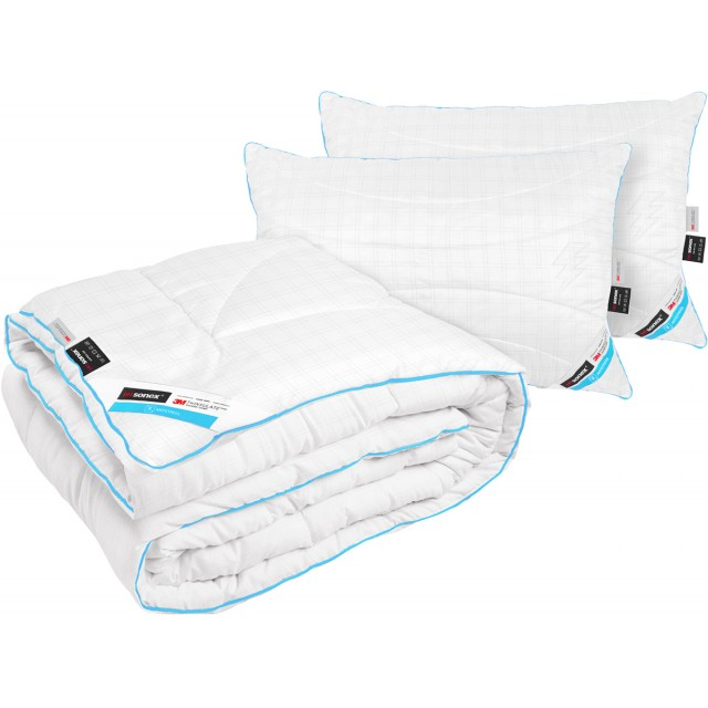Набор с Тинсулейтом Антистресс (Одеяло + 2 подушки)