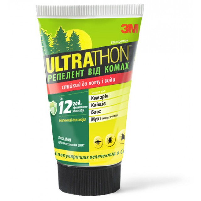 Для домашней аптечки: Лосьон от комаров и насекомых Ultrathon (SRL-12)