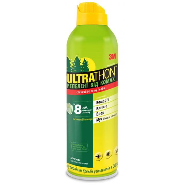 Для домашней аптечки: Спрей от комаров и насекомых Ultrathon (SRA-6)