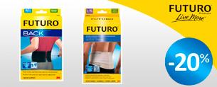Акція! Знижка -20% на продукцію Futuro™