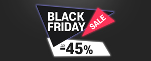 Black Friday Sale до -45%! Тільки 5 днів!