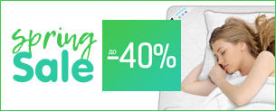 Spring Sale! Знижки до -40% + 5% на ковдри